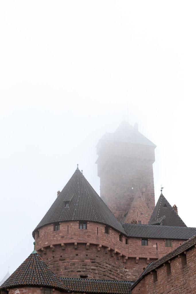 Projet 52 - Château du Haut-Kœnigsbourg en Alsace