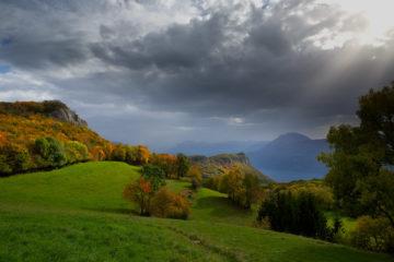 Projet 52 - Vue depuis la montagne de Cessens