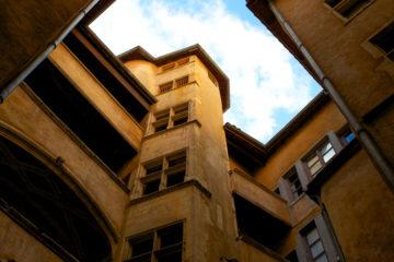 Immeuble du quartier Saint-Jean à Lyon