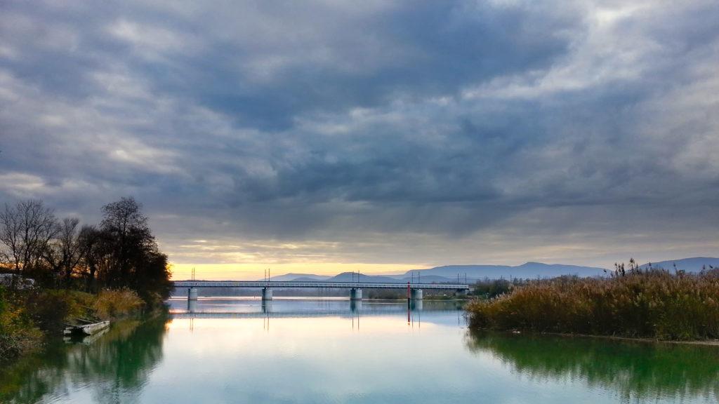 Phoneographie - Pont sur le Rhône
