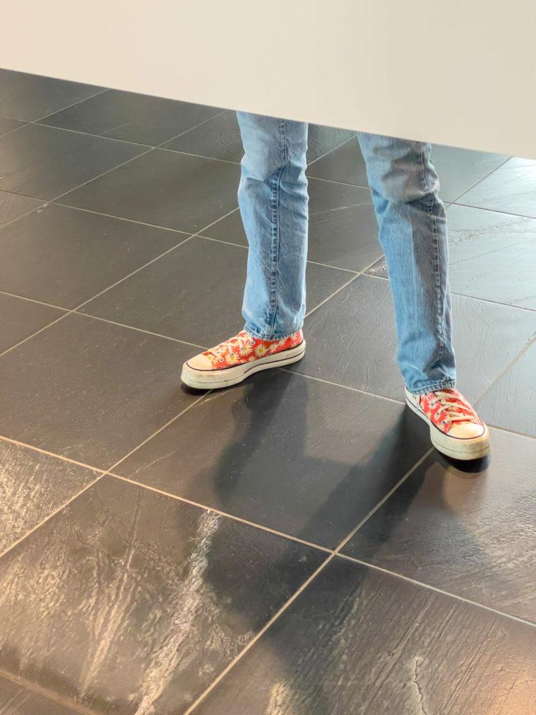 Juste des pieds